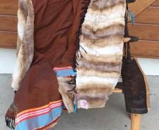 Kikoy blanket